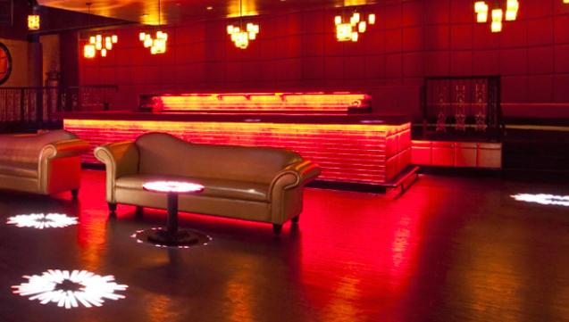 Stylish lounge areas