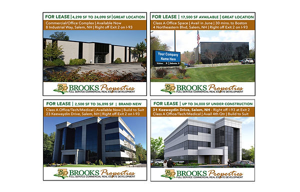 Brooks Properties Digital Advertising, designed by Infinite Marketing, Inc.