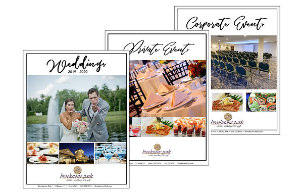 Brookstone Park Event Center Print Marketing, designed by Infinite Marketing, Inc.
