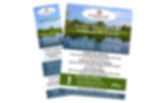 Brookstone Park Golf Course Print Ads, designed by Infinite Marketing, Inc.