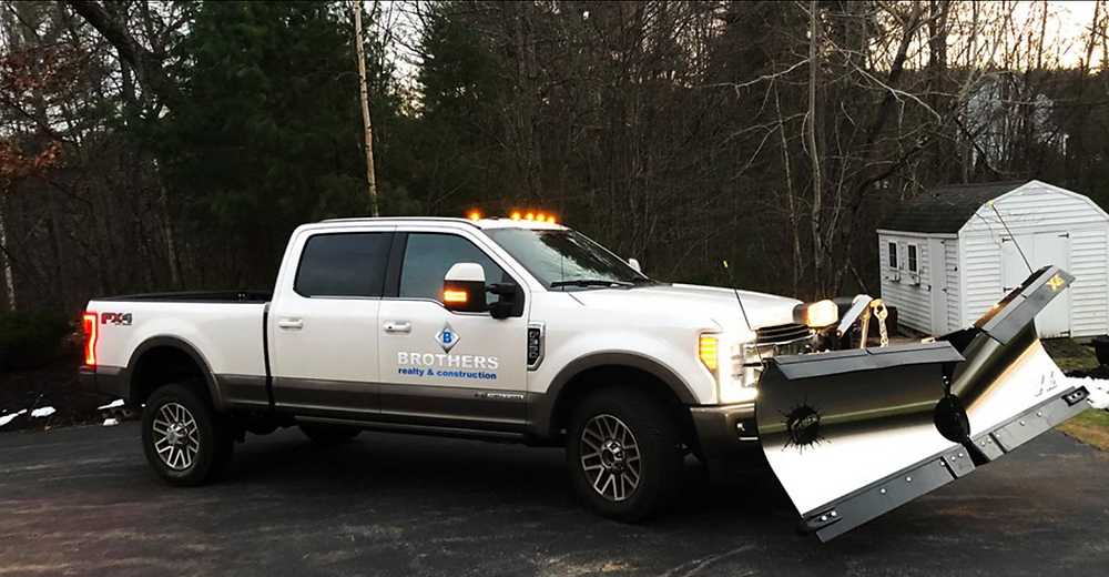 Brother's Construction & Realty New Plow Truck