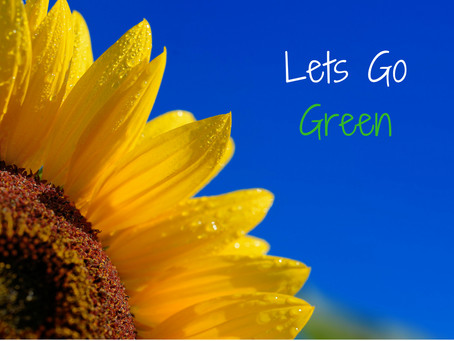 """Make Your Next Event Theme """"Green"""""""