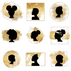 African Queen Icons