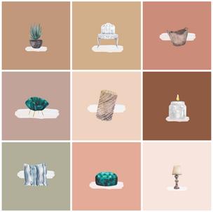 Home Decor Icons