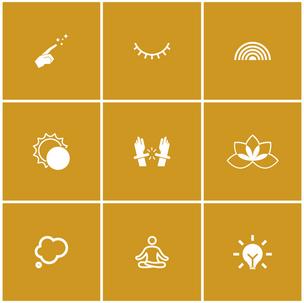 Mindfulness Icons