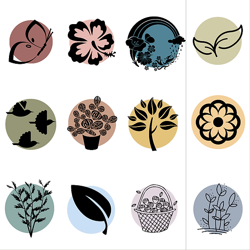 12 Spring Icons