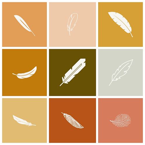 9 Feather Icons