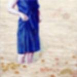 Wader in a Blue Dress.JPG