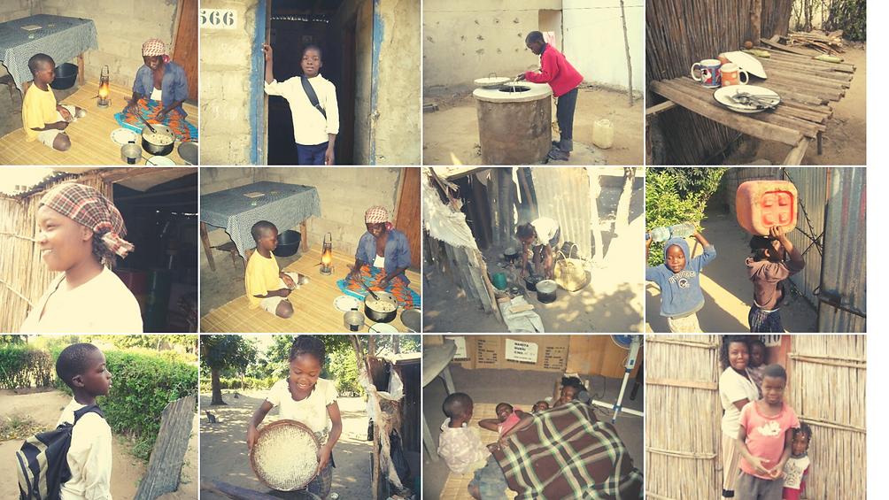 Come trascorre la giornata un bambino in Mozambico.