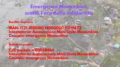 Ciclone Mozambico: aggiornamento 21 marzo