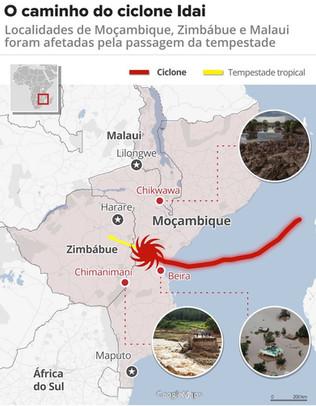 Mozambico: 15 giorni fa il ciclone