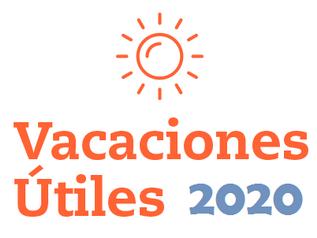 """VACACIONES ÚTILES """"CIMA"""" 2020 - INSCRIPCIONES ABIERTAS"""