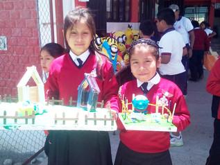 Exhibición de los trabajos de Arte - Estudiantes del Nivel de Educación Primaria