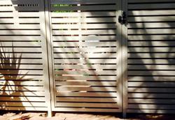 Aluminium Security Gate Horizontal