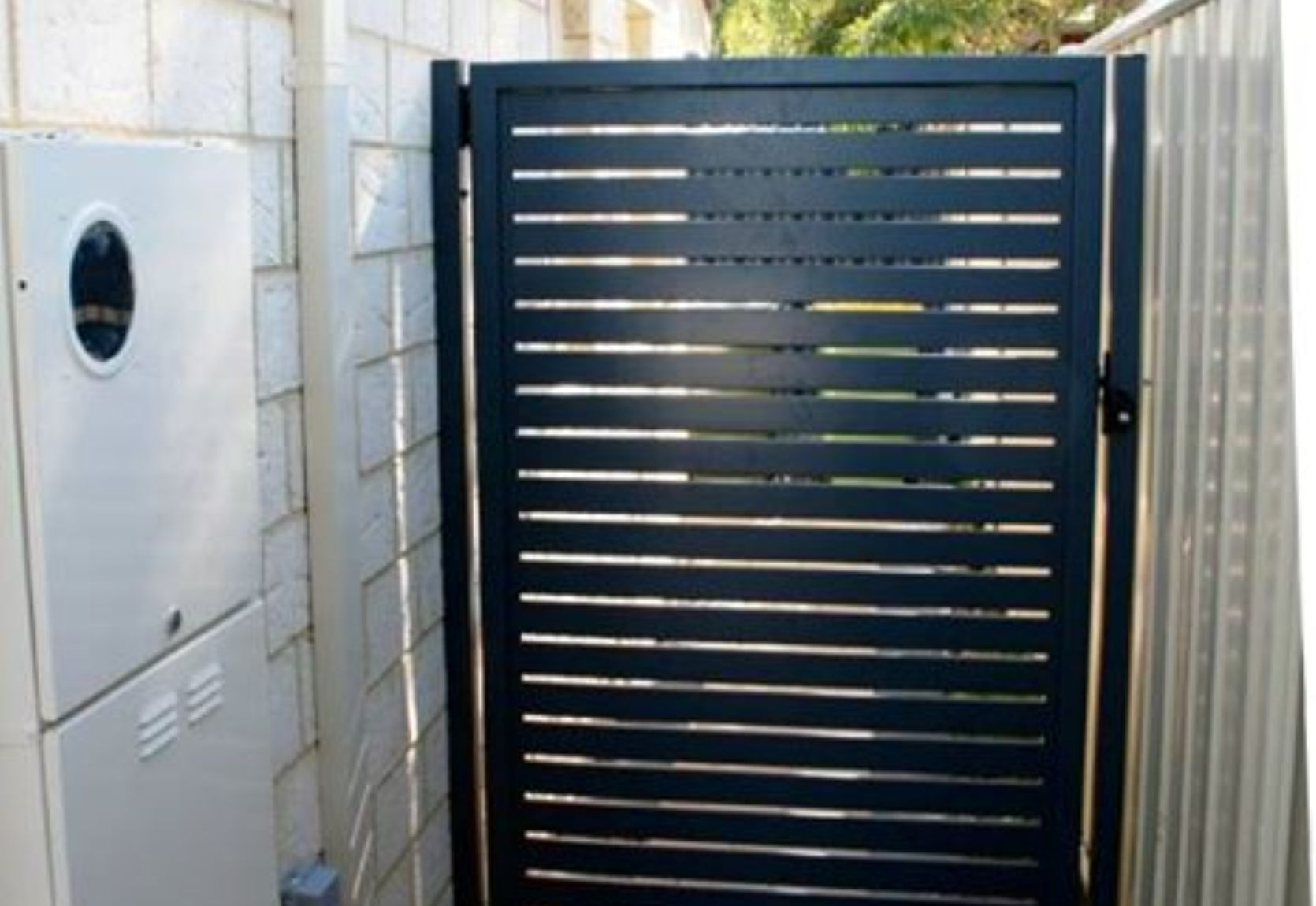 Aluminium Security Gate