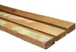 4.8m 75x38 Hardwood ence rails CCA Treated