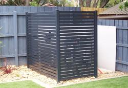 Garbage Bin and Pool Pump Enclosure