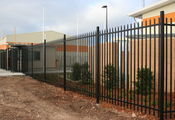 security diplomat fence