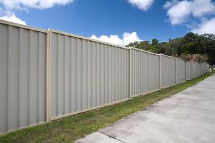 Colorbond fencing