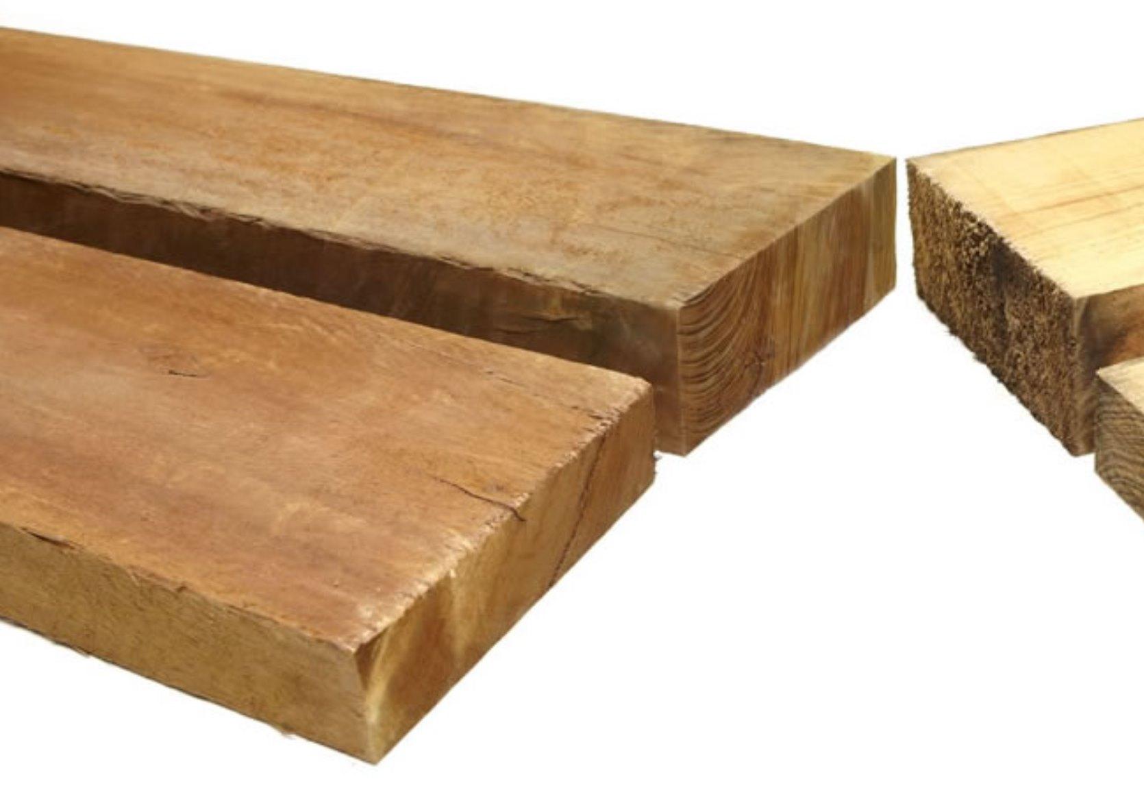 200mm Pine and Hardwood Sleepers