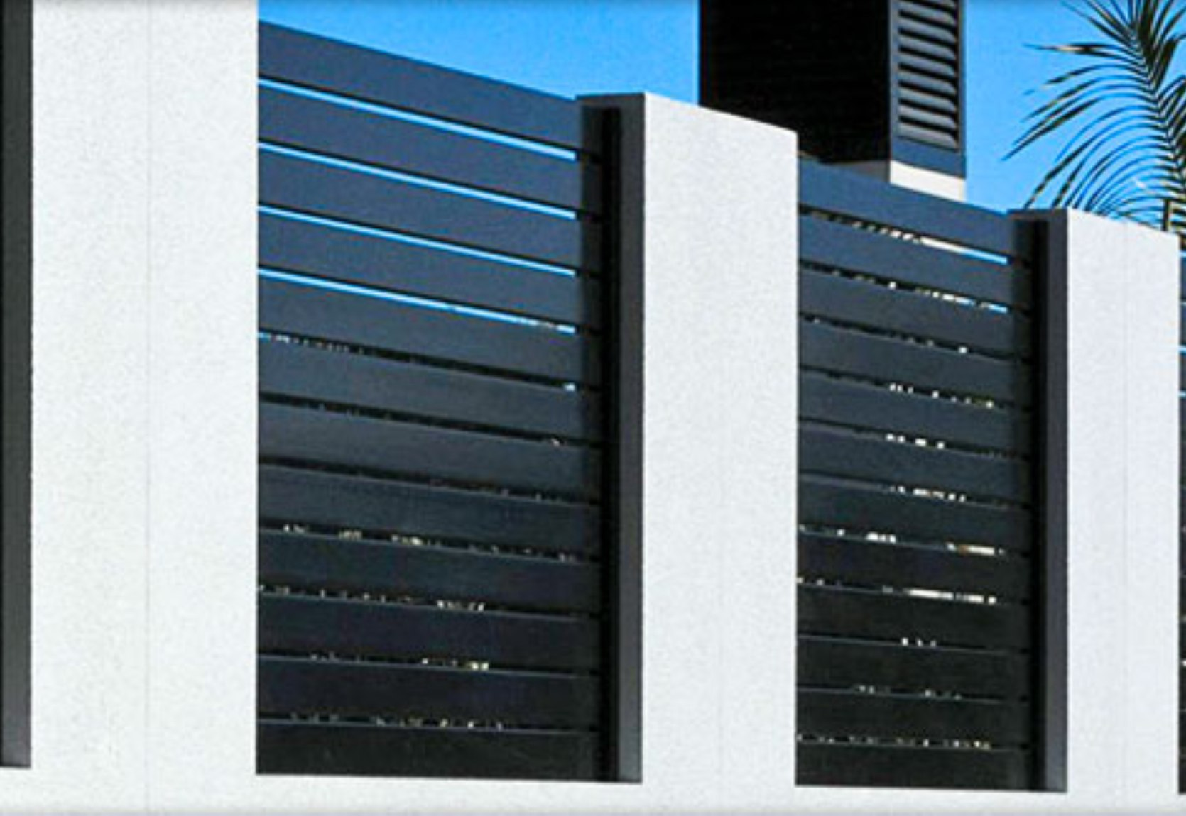 Horizontal Aluminium Panels