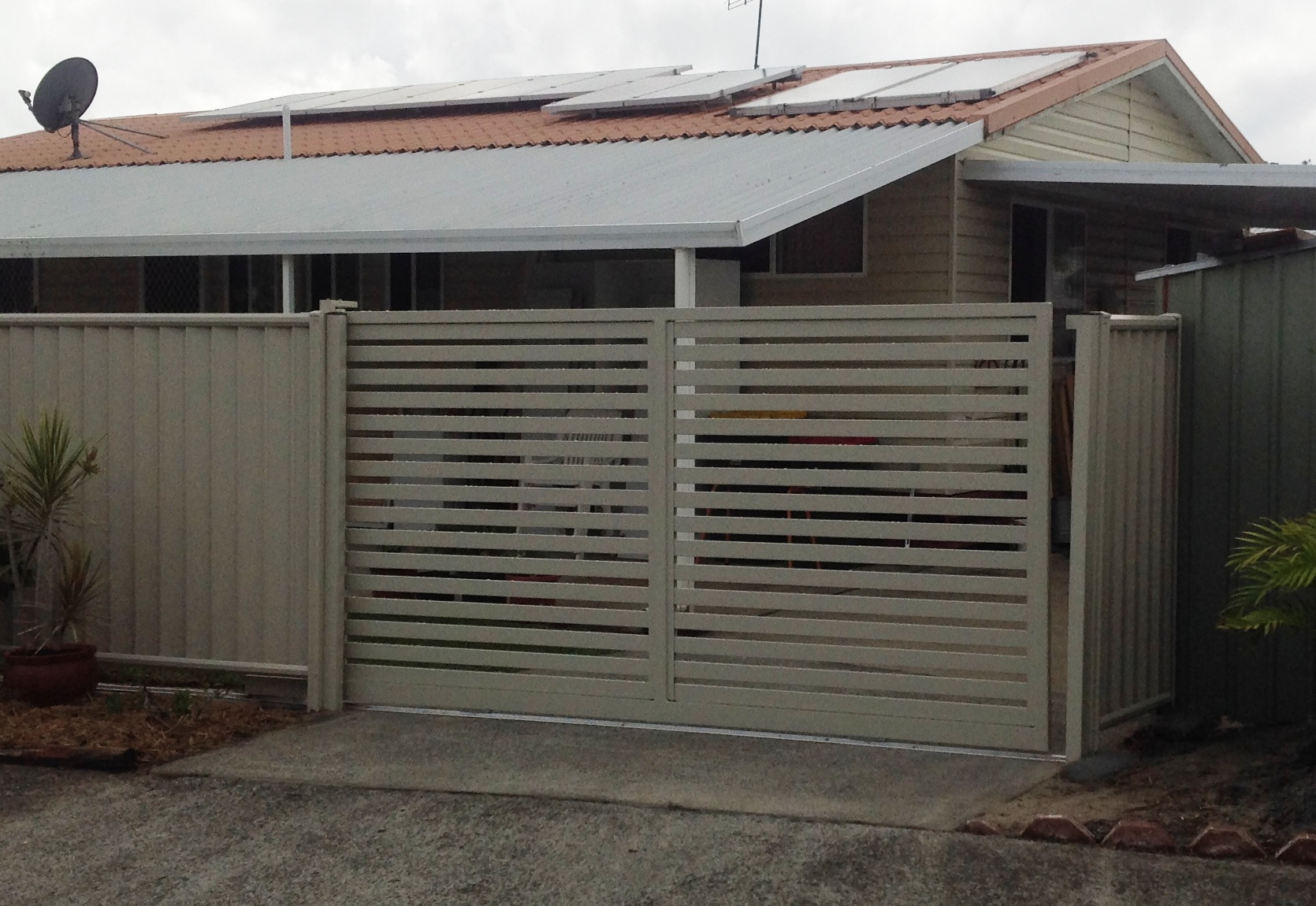 Custom Sliding Gate