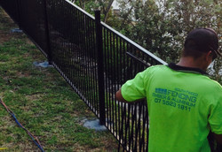 Installation of Fencing Panels
