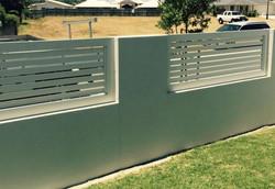 Horizontal Aluminium Panels