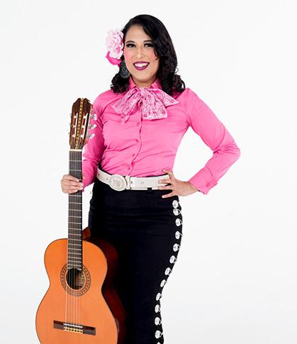 Armonia Lead/Vocalist Alexia Quintero