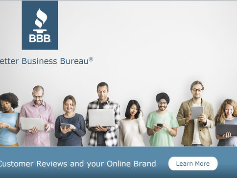 BBB Customer Reviews & Your Online Brand