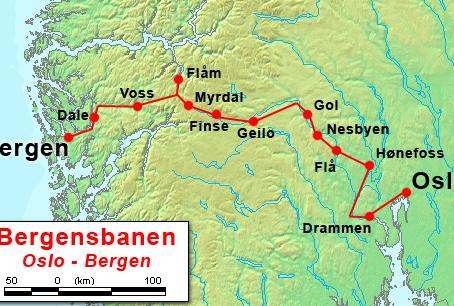 Najbardziej ekscytująca na świecie przejażdżka pociągiem. Oslo – Bergen