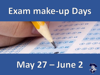 Missed an exam?