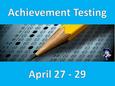 Achievement Testing for grades 1- 11