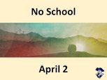No School this Friday