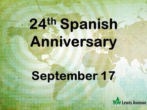24th Spanish Church Anniversary