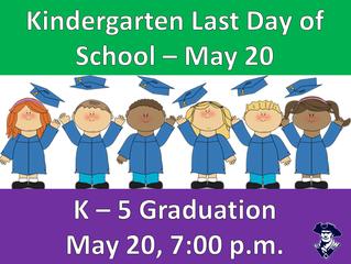 K-5 Gradutation!
