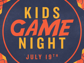 Free Game Night for Elementary Kids!