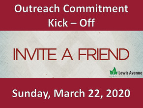Will you commit to reach our to others?