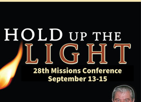 Join us for our Mission's Conference