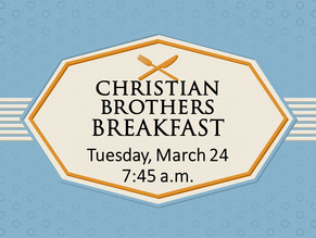 Join us for a Men's Breakfast!