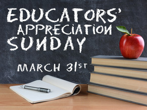 A special day to honor local educators