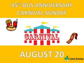 45th Bus Anniversary & Carnival