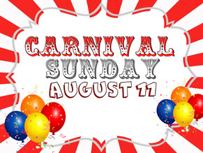 It's Carnival time for our Bus children!