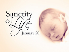 National Sanctity of Human Life