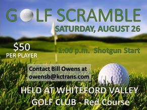 Sign up now for our Golf Scrambles