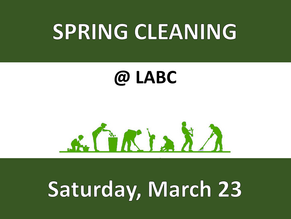Come help us clean up around our property!
