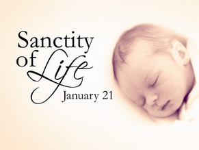 National Sanctity of Human Life Sunday