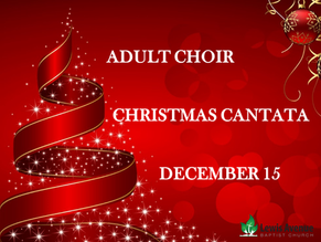"The LABC adult choir presents ""Ten Thousand Hallelujahs"""