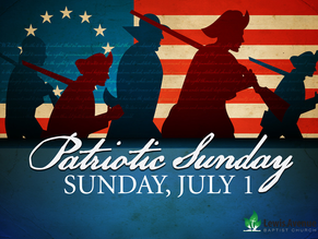 Join us for our Patriotic Service!