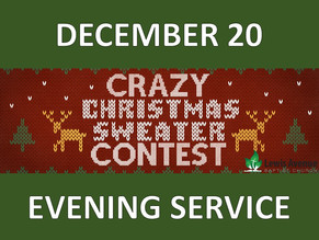 Crazy Christmas Sweater Service
